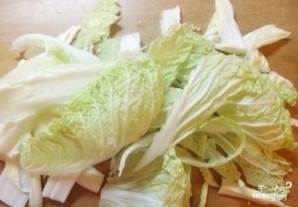 Капуста, тушенная в сливочном соусе - фото шаг 1