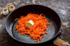 Морковные котлеты с творогом - фото шаг 2