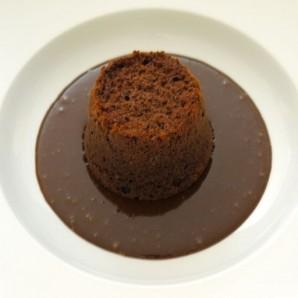 Тройной шоколадный пудинг - фото шаг 17