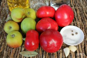 Перец с яблоками на зиму - фото шаг 1