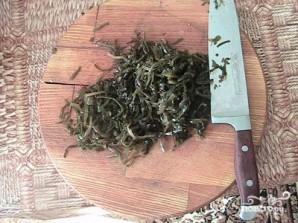 Салат с морской капустой и кукурузой - фото шаг 1