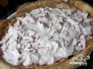 Пирог из блинов с мясом - фото шаг 7