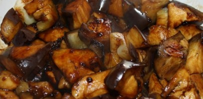 Куриный суп с баклажанами - фото шаг 3