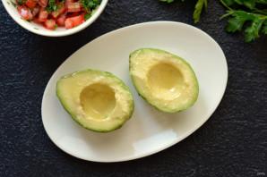 Авокадо на гриле - фото шаг 2