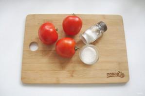 Сок из помидоров через мясорубку - фото шаг 1