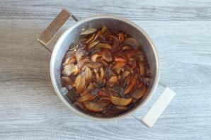 Варенье из яблок с мелиссой