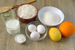 Апельсиново-лимонный пирог - фото шаг 1
