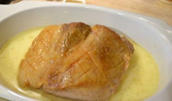 Мясо в молоке в духовке - фото шаг 7