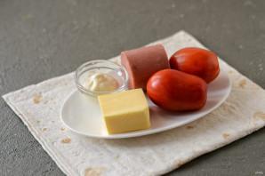 Хрустящая закуска из лаваша - фото шаг 1