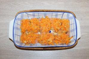 Горбуша с помидорами и сыром в духовке - фото шаг 8