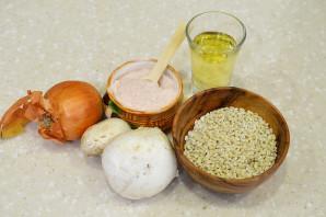 Вкусная перловка с грибами и луком - фото шаг 1