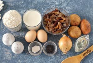 Пирог с маринованными грибами и картофелем - фото шаг 1