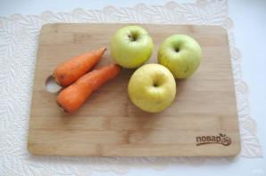 Морковно-яблочный сок - фото шаг 1