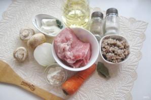 Гречаники с грибным соусом - фото шаг 1