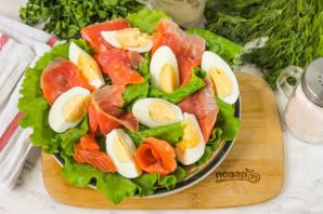 Салат с красной рыбой и грейпфрутом - фото шаг 4