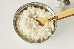 Горбуша с рисом в духовке - фото шаг 3