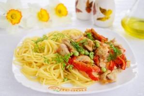 Спагетти «Примавера» - фото шаг 5