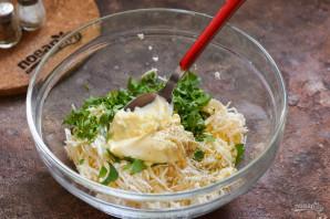 Салат с плавленым сыром - фото шаг 6