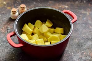 Грибной суп как в Икеа - фото шаг 2
