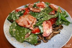 Салат со шпинатом - фото шаг 3
