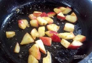 Горячие бутерброды с яблоками и сыром - фото шаг 2