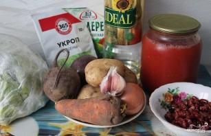 Борщ сибирский с мясом - фото шаг 1