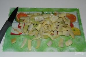 Стручковая фасоль с рисом - фото шаг 2