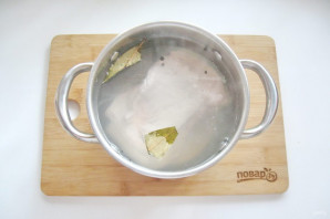Вареная грудинка из свинины в домашних условиях - фото шаг 3