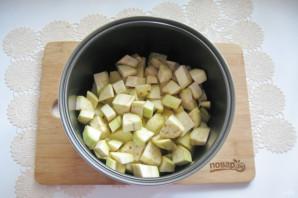 Картошка с баклажанами в мультиварке - фото шаг 5