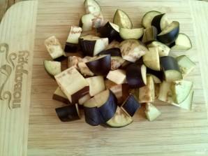 Малосольные баклажаны с чесноком - фото шаг 1