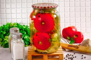 Розовые помидоры на зиму - фото шаг 8