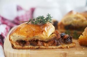 Пирог с говядиной и беконом из Винтерфелла - фото шаг 15