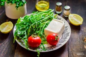 Салат с рукколой и брынзой - фото шаг 1