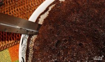 Шоколадный торт на скорую руку - фото шаг 12