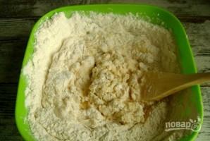 Пирожки с рисом из дрожжевого теста - фото шаг 4