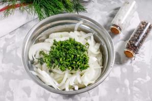 Маринованный лук для салата - фото шаг 2