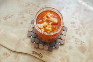 Цветная капуста в томатной заливке - фото шаг 11