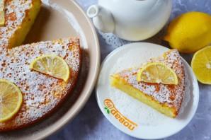 Лимонный пирог в духовке - фото шаг 12