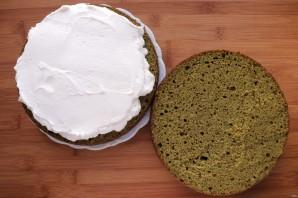 Торт из шпината - фото шаг 8
