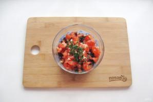 Салат из свеклы и помидоров - фото шаг 8