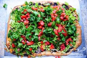 Пицца с кукурузными лепешками, фасолью и сыром - фото шаг 5