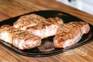 Свинина с вишневым соусом - фото шаг 6