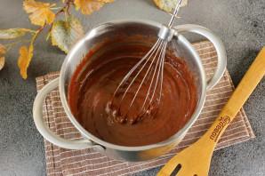 Кекс с горьким шоколадом