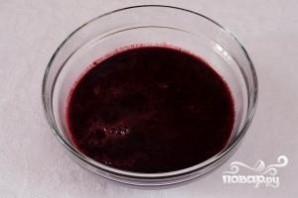 Холодный суп из черники - фото шаг 3