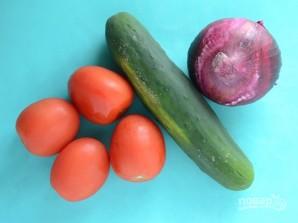 Салат из простых продуктов - фото шаг 2