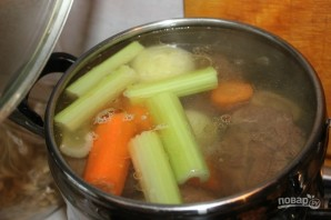 Студень из говядины - фото шаг 2