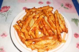 Картофель в кляре - фото шаг 5