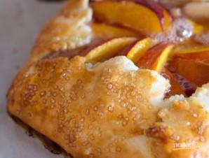 Тарт с нектарином и медом - фото шаг 6