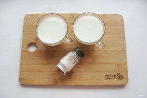 Домашний сыр без яиц - фото шаг 1