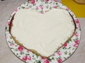 """Торт """"Влюбленное сердце"""" - фото шаг 4"""